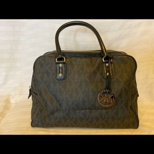 Black Logo Michael Kors Handbag Crossbody